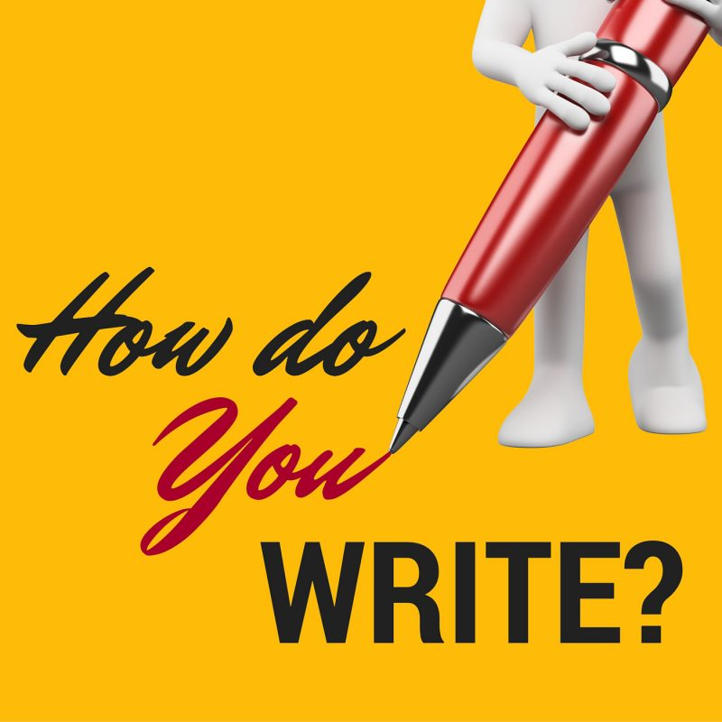 How Do You Write